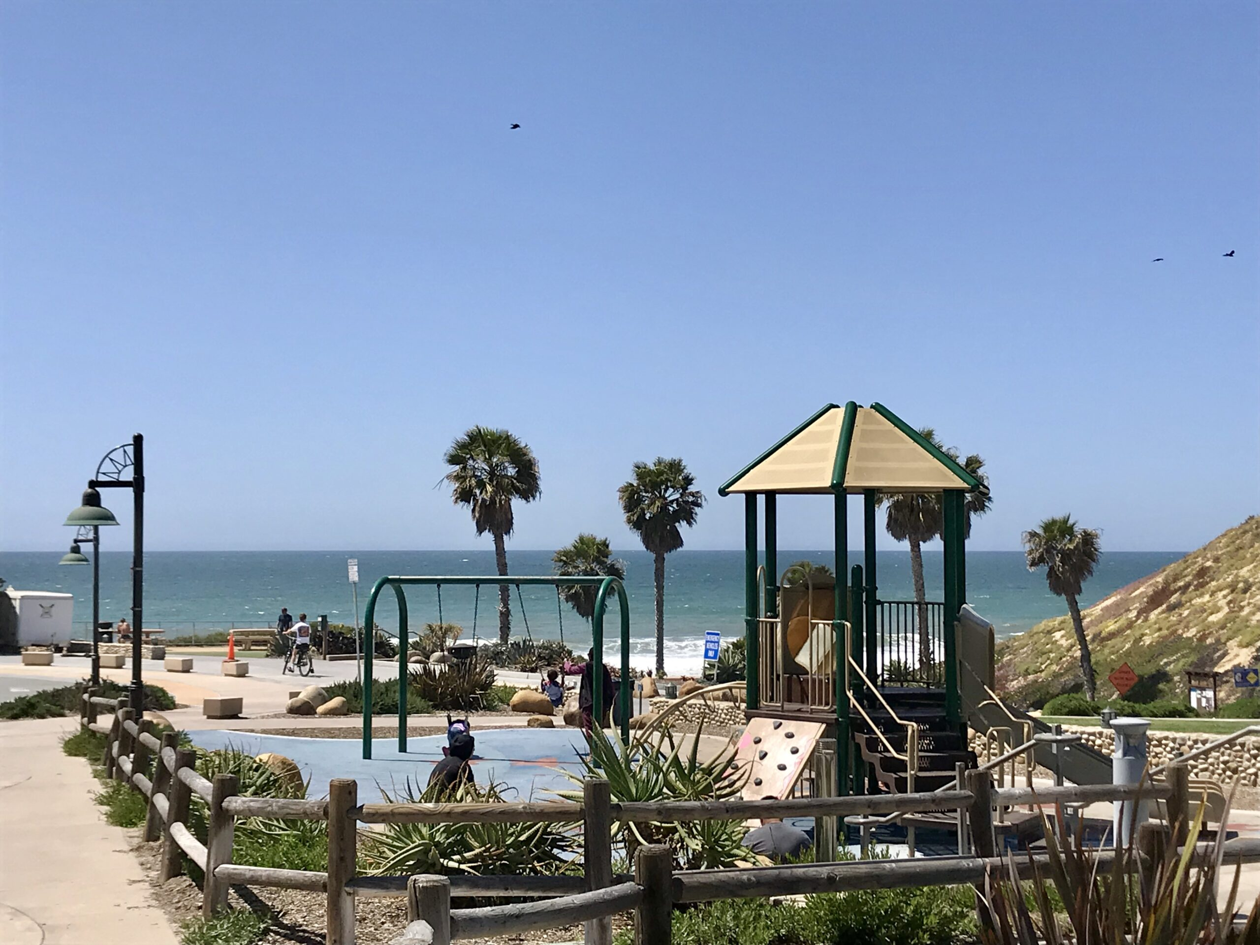 Playgrounds at the beach in North County San Diego | Graham and Kelly Levine